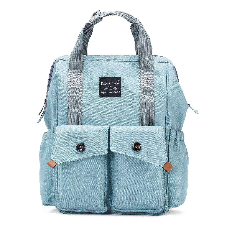 SoHo Rockaway Diaper Backpack Bag 3Pc Set, Aqua