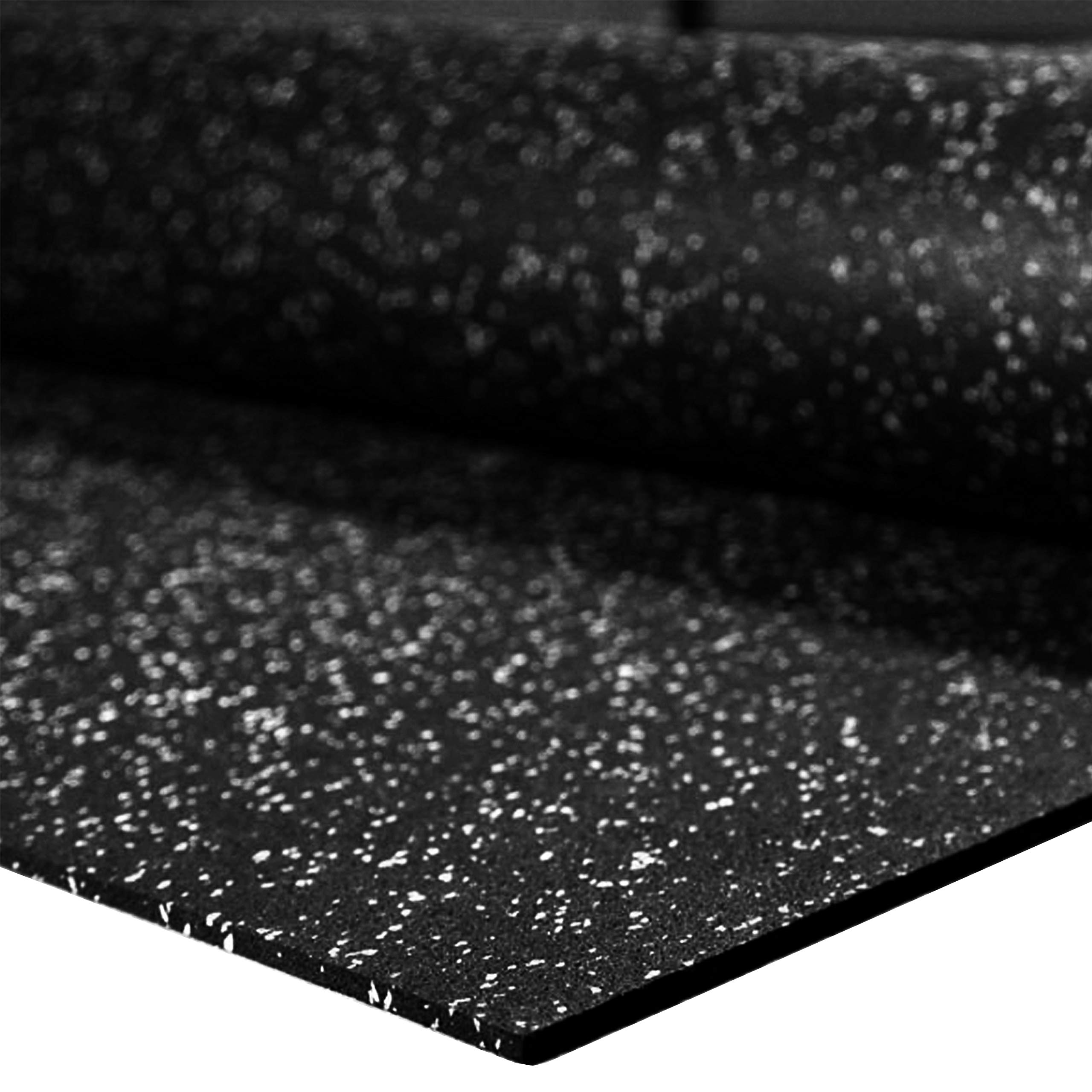"""IncStores 1/4"""" Tough Rubber Roll (4' x 10') - Excellent Gym Floor mats for Medium/Large Equipment and Light/Moderate Free Weights (5 Mats - 4'x10' Egg Shell)"""