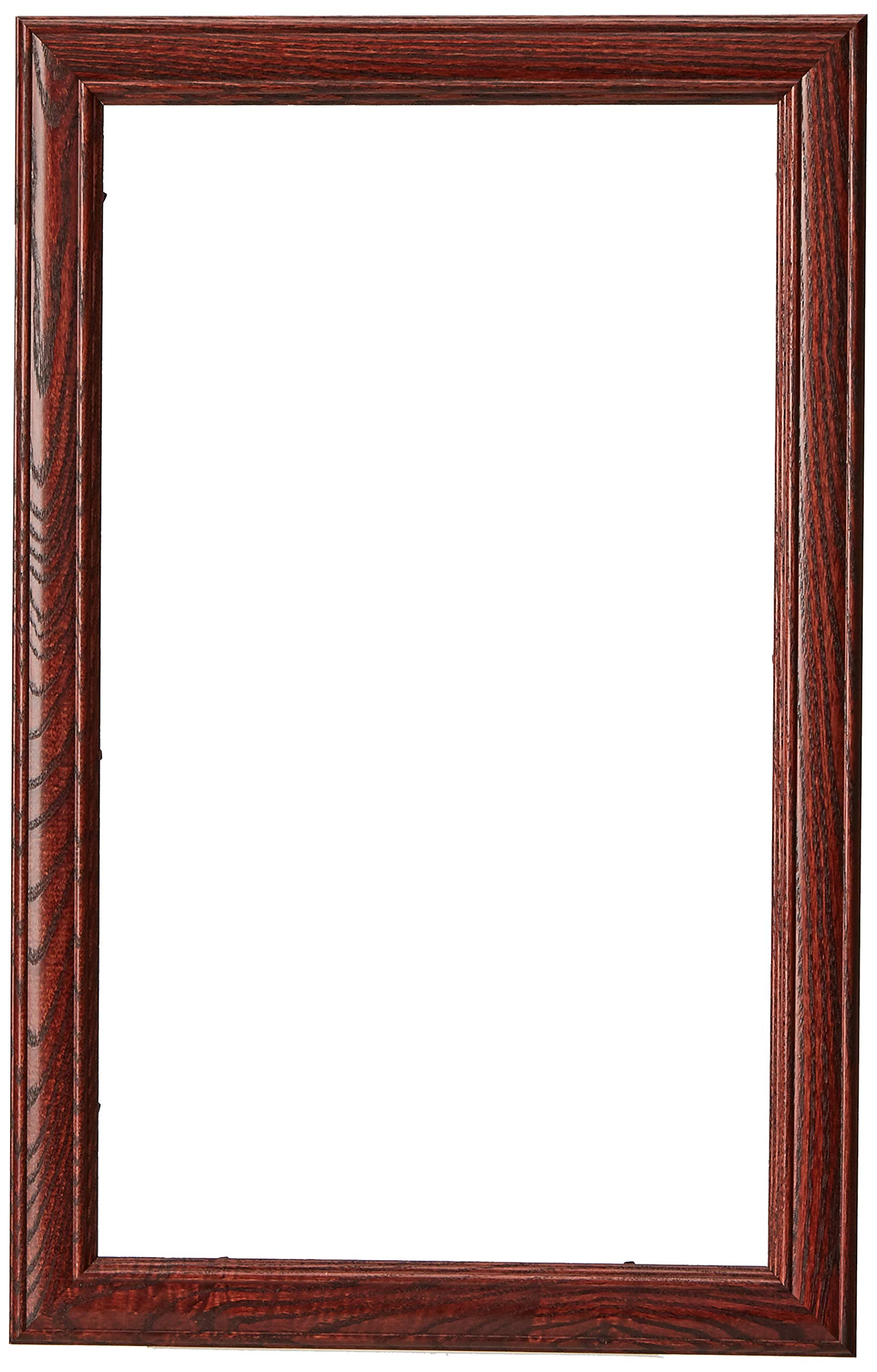 ArtToFrames 10x17 inch Cherry stain on Solid Red Oak Wood Picture Frame, 2WOM0066-59504-YCHY-10x17