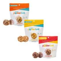 Protein Power Ball Healthy Snacks - Single Serving Packs - Gluten Free, Dairy Free, Soy Free, Vegan, Energy Bites (Variety Pack, 6 Pack)