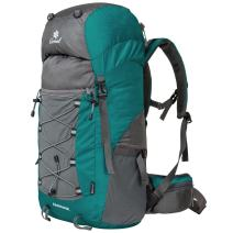 Coreal Unisex 50l Hiking Backpack for Travel Outdoor Sport Camping Trekking Lightweight