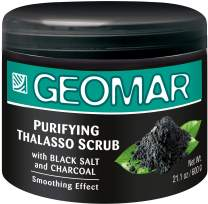 Charcoal Scrub | Pore Minimizer Exfoliating Body Scrub | 21oz Natural Exfoliating Body Scrub, Powerful Formula to Reduce Wrinkles, Acne, Psoriasis, Blemishes, Eczema and Dry Skin. 2-Step Fast Anti Cellulite Treatment