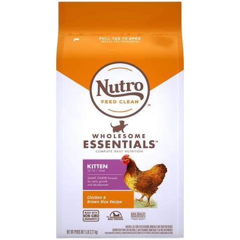 Nutro Wholesome Essentials Kitten Dry Cat Food, Chicken