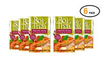 ROI THAI, Ready to cook, Thai Tom Yum soup with coconut milk, Curry sauce, Simmer sauce, Instant curry sauce, Thai food, 8.4 OZ (Pack of 6)