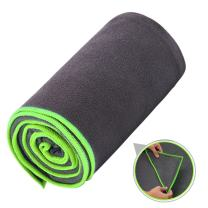Ewedoos Yoga Towel with Anchor Fit Corners, Non Slip Yoga Towel, 100% Microfiber, Super Soft, Sweat Absorbent, Ideal for Hot Yoga, Pilates and Workout.