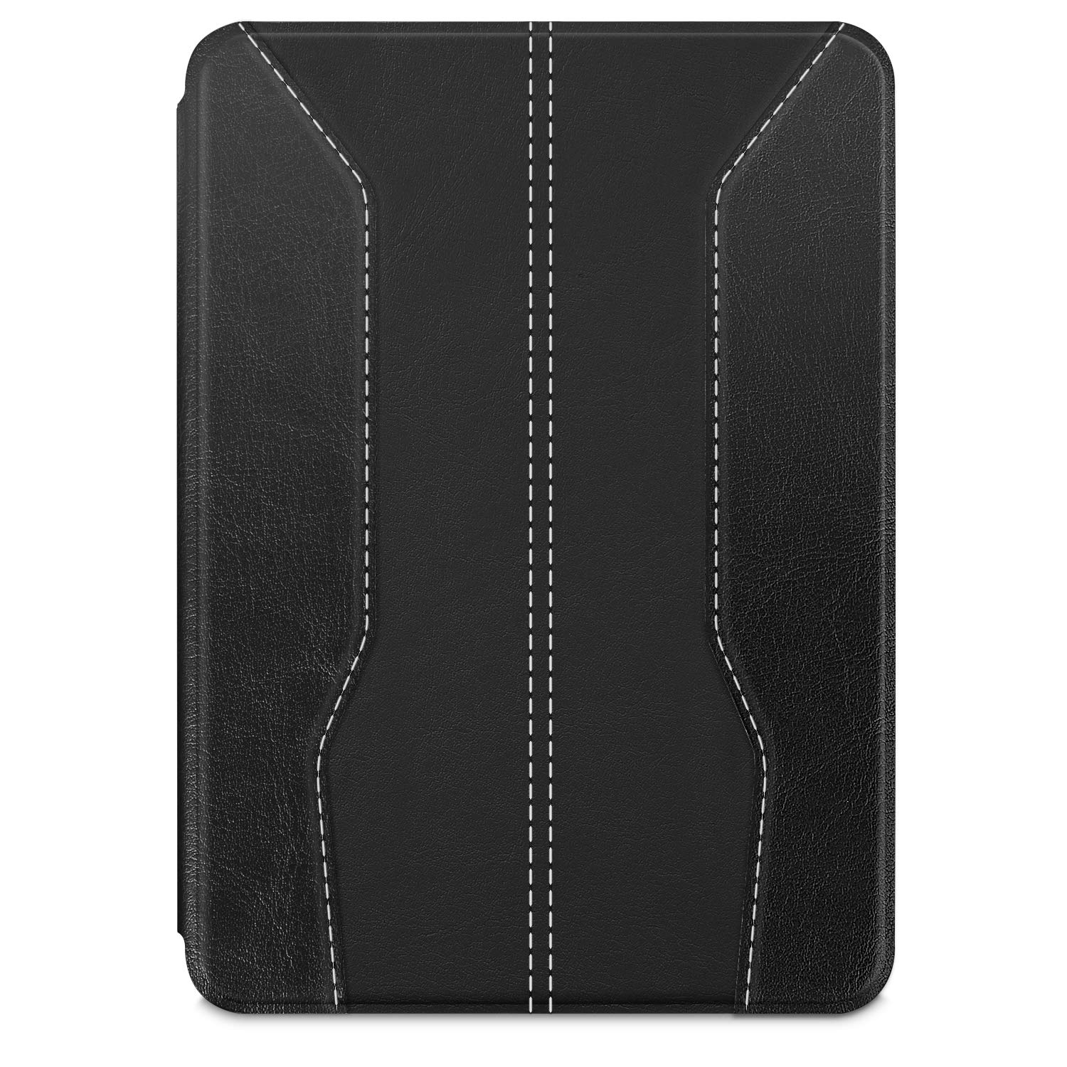 Fintie Slimshell Case for All-New Kindle (10th Gen, 2019 Release) - Lightweight Premium PU Leather Protective Cover with Auto Sleep/Wake (NOT Fit Kindle Paperwhite or Kindle 8th Gen), Matte Black