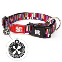 Max & Molly Ultra Comfortable Padded Neoprene Sport Dog Collar with Smart Id Tag