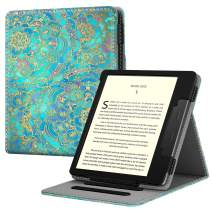 Fintie Flip Case for All-New Kindle Oasis (10th Generation, 2019 Release and 9th Generation, 2017 Release) - Multi Angle Hands Free Viewing Stand Cover with Auto Sleep Wake, Shades of Blue