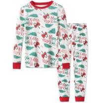 DAUGHTER QUEEN Boys Pajamas Toddler Kids 100% Cotton Pjs Set Sleepwear Size 18M-12 Years