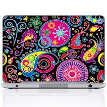Meffort Inc 17 17.3 Inch Laptop Notebook Skin Sticker Cover Art Decal (Included 2 Wrist pad) - Arts Design