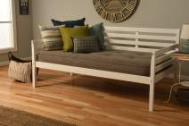 Kodiak Furniture Boho Daybed, Twin, White Finish