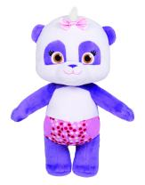 "Snap Toys Word Party - Lulu 7"" Stuffed Plush Baby Panda from The Netflix Original Series - 18+ Months"