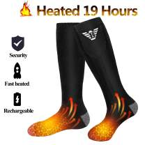 Heated Socks for Men Women - Electric Heating Socks, Battery Powered Socks Rechargeable for Winter Sports