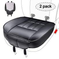 Car Front Seat Cushion Cover Edge Wrapping 2pc Breathable Pad Mat for Auto Supplies Memory Foam Seat Cushion