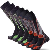High Performance Wool Ski Socks – Outdoor Winter Men Women Sock Merino Snowboard