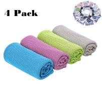 CC CAIHONG Cooling Towels Microfiber Multi-Purpose Fast Drying Sweat Towels for Neck, Ice Towels for Workout Sweat, Fitness, Gym, Yoga, Running, Camping, Hiking, Pilates, Travel