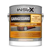 INSL-X EGG922S9A-1K Garage Guard Waterbased Epoxy Semi-Gloss Paint, 1 Gallon Kit, Desert Sand
