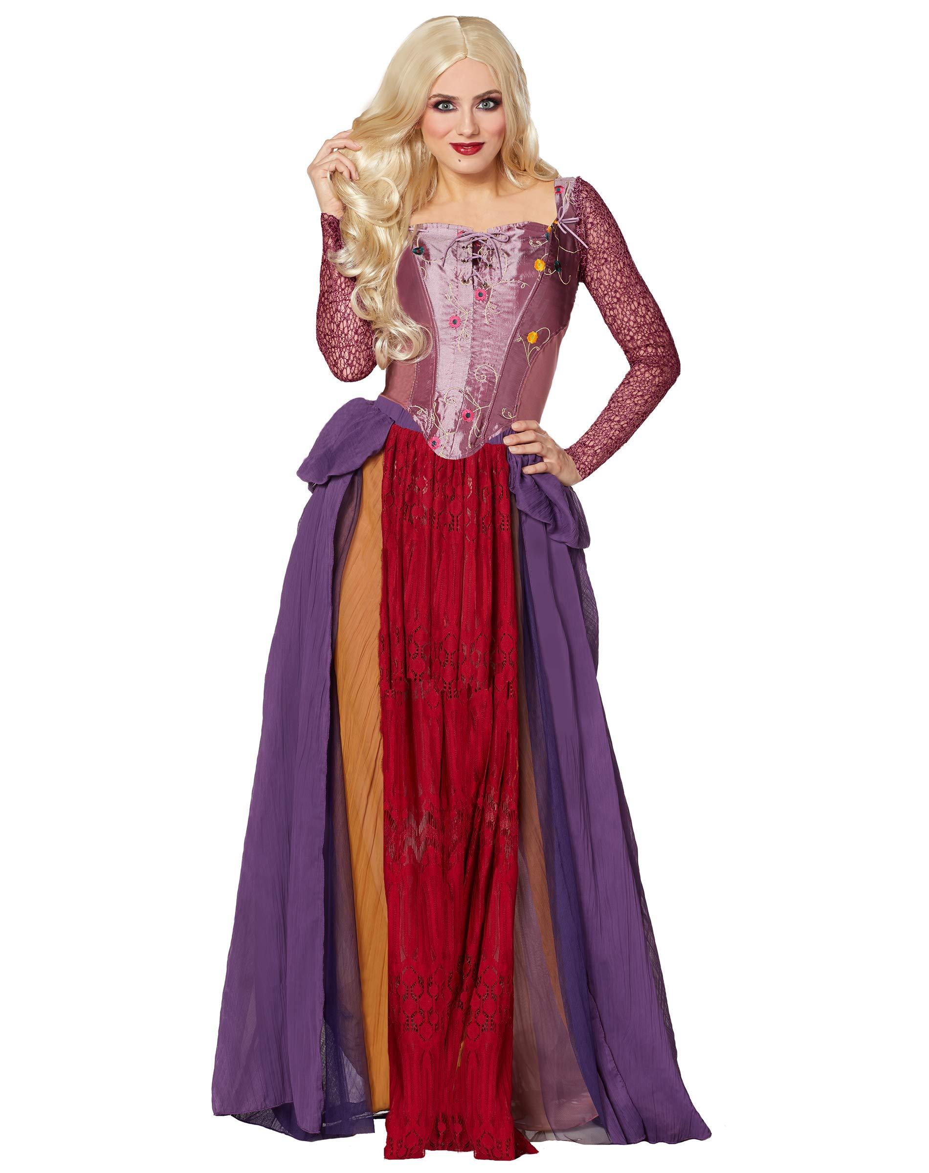 Spirit Halloween Adult Sarah Sanderson Deluxe Hocus Pocus Costume | Officially Licensed