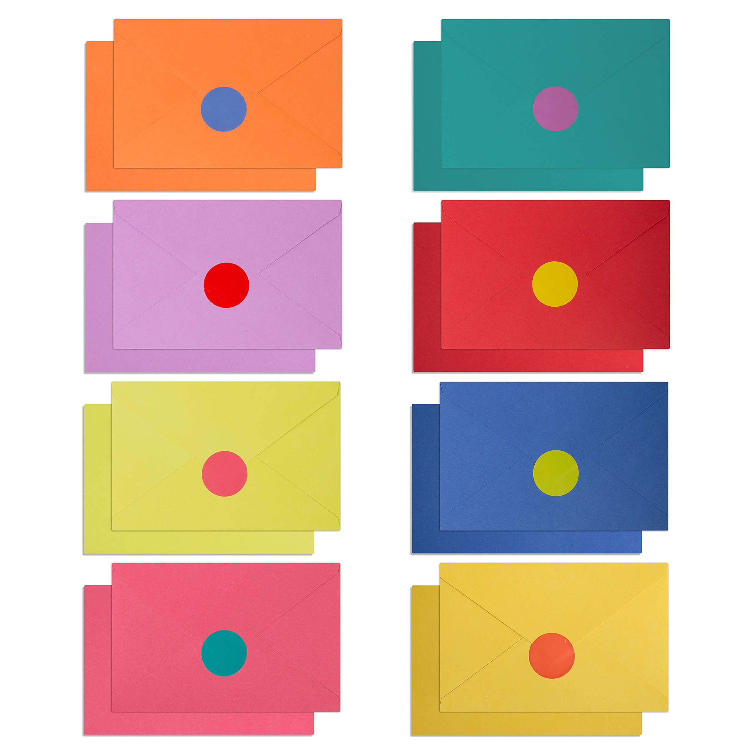 """120 Blank Cards with Envelopes & Stickers 