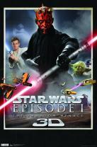 "Trends International Star Wars: The Phantom Menace-3D One Sheet, 22.375"" x 34"", Premium Unframed"