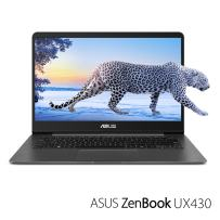 "ASUS ZenBook 14 Thin and Light Laptop - 14"" Full HD WideView, 8th gen Core i7-8550U Processor, 16GB DDR3, 512GB SSD, Backlit KB, Fingerprint Reader, Grey, Windows 10 Home - UX430UA-DH74"