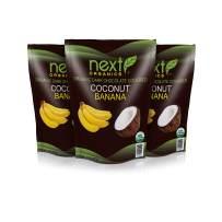 Next Organics Dark Chocolate Coconut-Banana 16 oz Bag (Pack of 3)