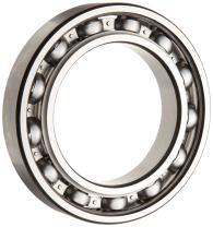 SKF 6005 JEM Deep Groove Ball Bearing, Open, Steel Cage, C3 Clearance, 25mm Bore, 47mm OD, 12mm Width, 1470lbf Static Load Capacity, 2520lbf Dynamic Load Capacity
