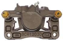 ACDelco 18R2555F1 Professional Rear Passenger Side Disc Brake Caliper Assembly with Pads (Loaded Non-Coated), Remanufactured