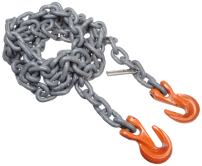 "Mazzella SGG Mechanical Alloy Chain Sling, Fixed-Leg, Grade 100, 5' Length, 5/8"" Chain Size, 22600 lbs Vertical Load Capacity"