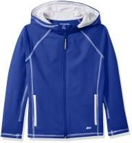 Amazon Essentials Boys Active Performance Hooded Full-Zip Jackets