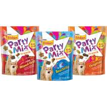 Purina Friskies Party Mix Variety Pack Cat Treats - 3-6Oz. Pouches