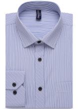 Alimens & Gentle Design Solid Color Regular Fit Long Sleeve Dress Shirts