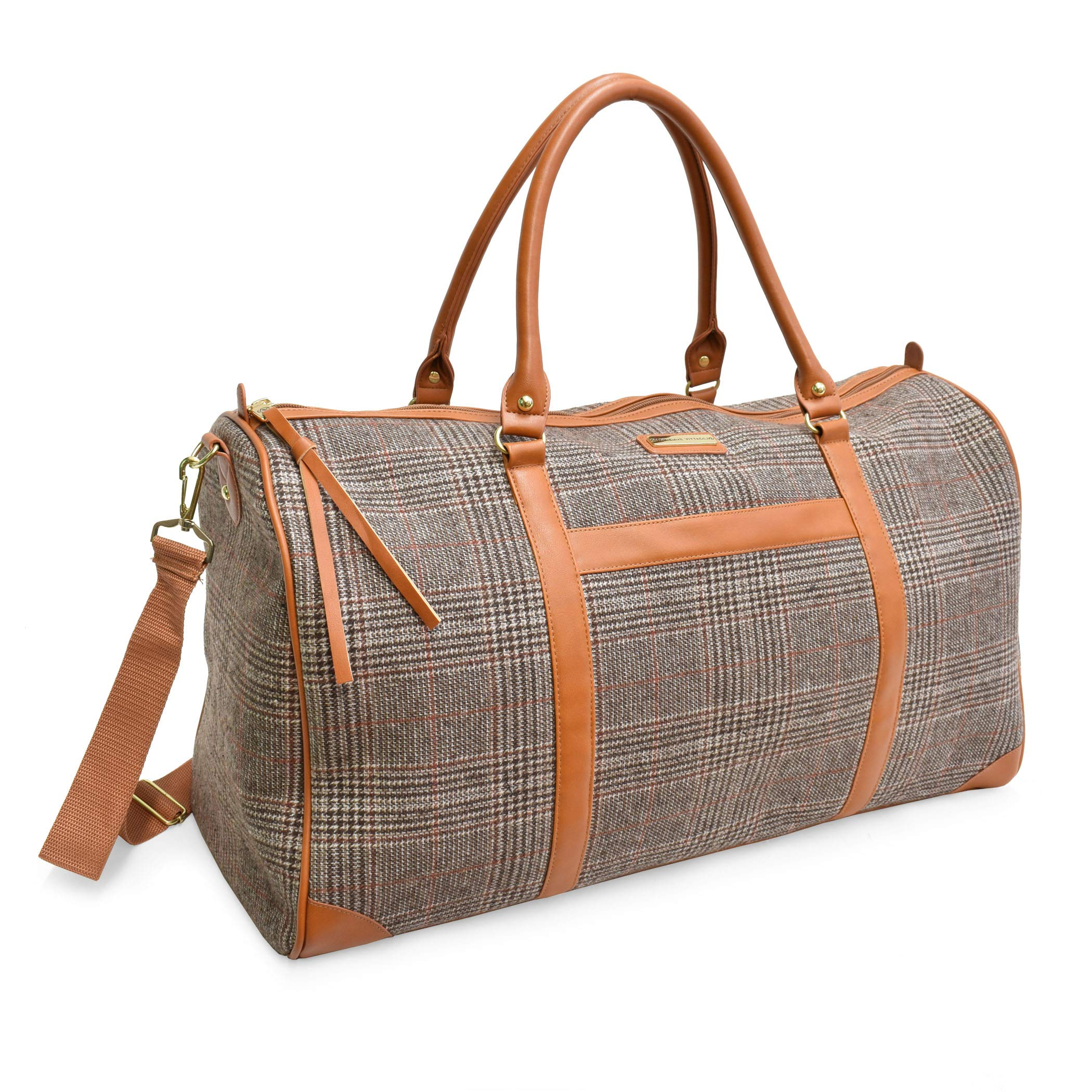 "Adrienne Vittadini 22"" Duffel Great for Weekends, Travel, Vacations and Shopping"