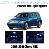 Xtremevision Interior LED for Chevy HHR 2006-2011 (11 Pieces) Blue Interior LED Kit + Installation Tool