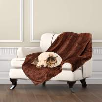 Msicyness Dog Blanket, Premium Fleece Fluffy Throw Blankets Soft and Warm Covers for Pets Dogs Cats