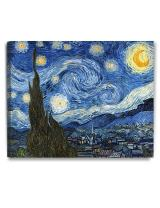 """DECORARTS Starry Night by Vincent Van Gogh The Classic Arts Reproduction, Art Giclee Print on Canvas, Stretched Gallery Wrapped, 30"""" L X 24"""" W"""