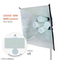 Linco Lincostore Flora X LED 1240 Photography Light for Photo,Film,and Video Studio Lighting kit AM147