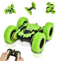 Rainbrace RC Cars for Kids, Stunt Car 4WD Off Road RC Truck 360°Flips Double Sided Rotating Tumbling Racing Car Vehicles High Speed Remote Control Car Kids Toys Car for 6-12 Years Old Boys Kids Gift