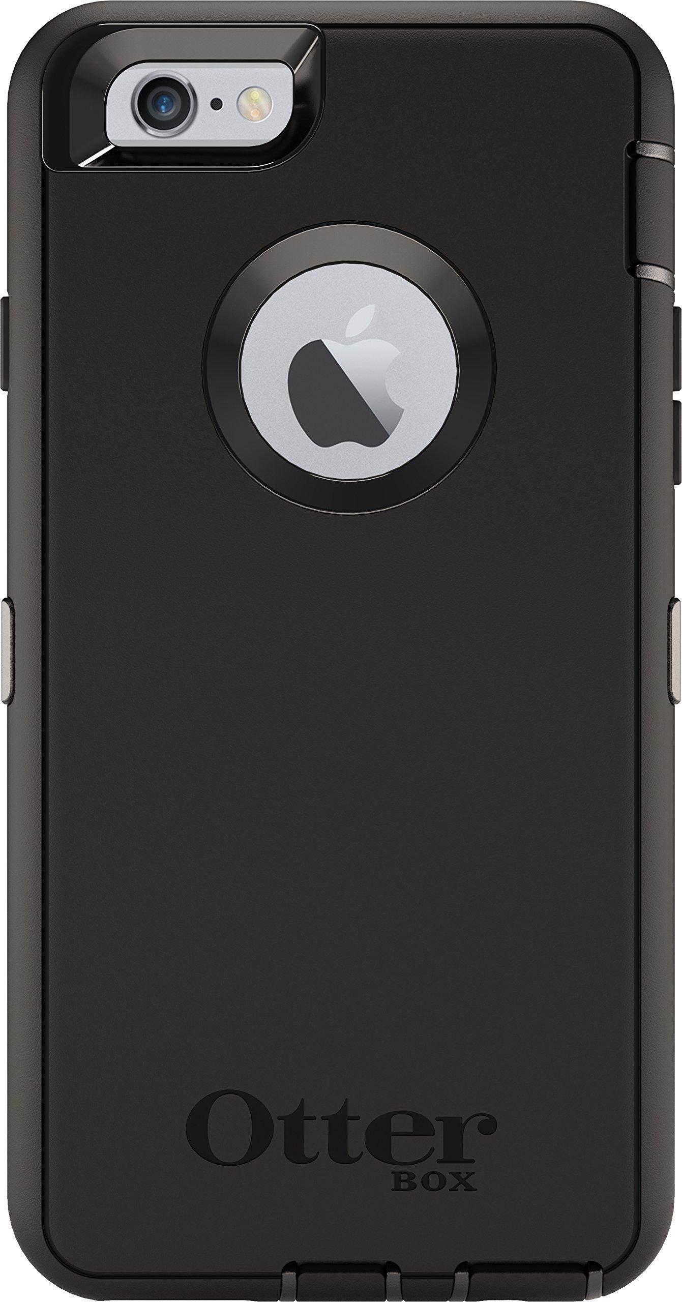 OtterBox DEFENDER iPhone 6/6s Case - Frustration Free Packaging - BLACK
