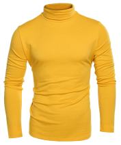 COOFANDY Mens Casual Turtleneck T Shirts