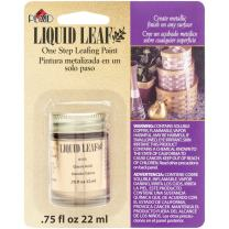 Plaid, Classic Gold 6110 :Craft Liquid One Step Leafing Paint, 0.75-Ounce, 1 Pack