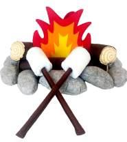 The 'Happy Camper' Felt/Plush Campfire Set for Kids
