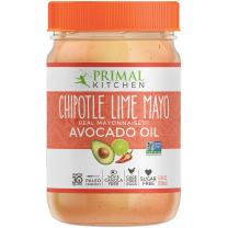 Primal Kitchen - Chipotle Lime Avocado Oil Mayo, Gluten and Dairy Free, Whole30 and Paleo Approved (12 oz)