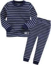 VAENAIT BABY Kids Boys Sleepwear Pajama 2pcs Set Color Pen Navy XL