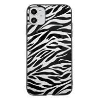 Savourio iPhone 11 Pro Max Case, HD Clear Ultra Slim Fit Soft TPU Protective Clear Case Shock-Absorption Anti-Scratch Compatible Cover Cases for iPhone 11 6.2 inch [2019] [Zebra White]