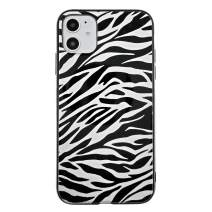 Savourio iPhone 11 Case, HD Clear Ultra Slim Fit Soft TPU Protective Clear Case Shock-Absorption Anti-Scratch Compatible Cover Cases for iPhone 11 5.9 inch [2019] [Zebra White]