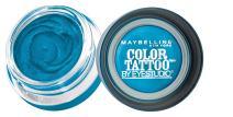 Maybelline New York Eyestudio ColorTattoo Metal 24HR Cream Gel Eyeshadow, Tenacious Teal, 0.14 Ounce (1 Count)
