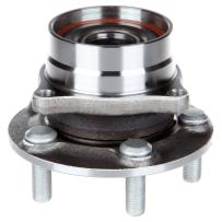 ECCPP Wheel Hub and Bearing Assembly Front 513265 fit 2004-2009 Toyota Prius Replacement for 5 lugs wheel hub no ABS 4 Bolt Flange