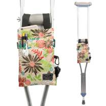 Crutch Bag Universal Crutches Accessory Crutch Carryon Pouch (Green, Polyester)