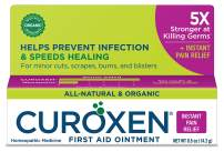 CUROXEN First Aid Ointment with Arnica, 0.5 oz   All-Natural & Organic Pain Relief